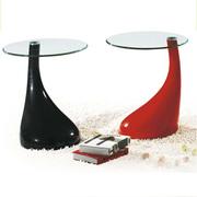 Журнальный столик Перла,  цвет красный