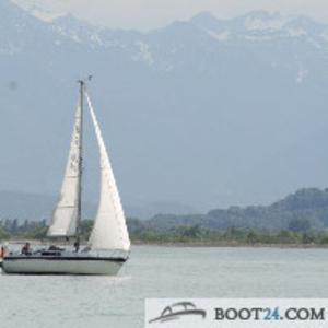 Парусная лодка с прицепом,  парусом и трэйлером