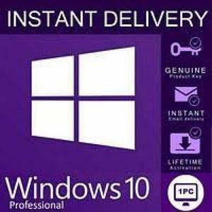 Лицензионный ключ Windows 10 PRO,  цифровая лицензия
