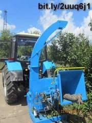 Дереводробильная машина (навесная на трактор) РМ 160T.